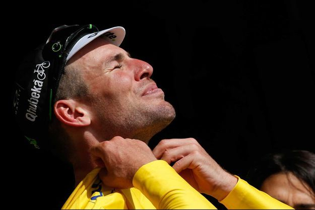 """""""Je voulais ce maillot!"""" a lancé Mark Cavendish."""
