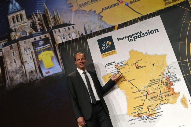 Christian Prudhomme a présenté mardi le parcours du Tour de France 2016.