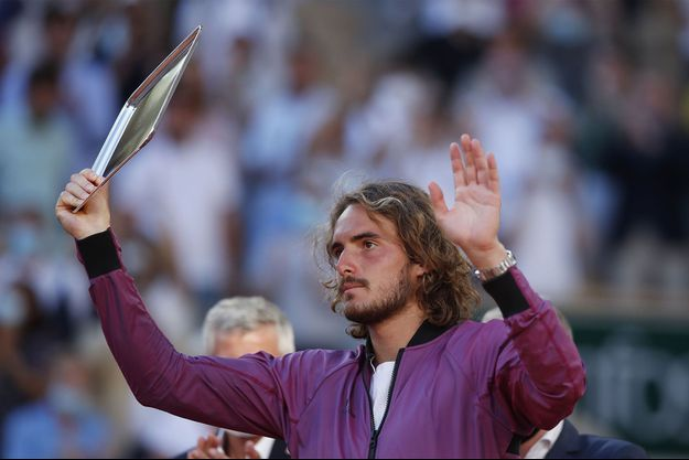 Stefanos Tsitsipas dimanche à Roland Garros.