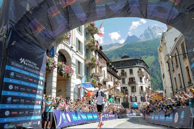 François d'Haene a remporté samedi pour la quatrième fois, l'Ultra-Trail du Mont-Blanc.