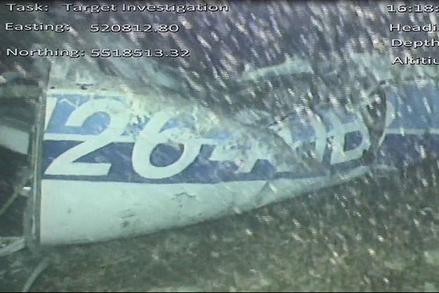 L'épave a été retrouvée au fond de la Manche.