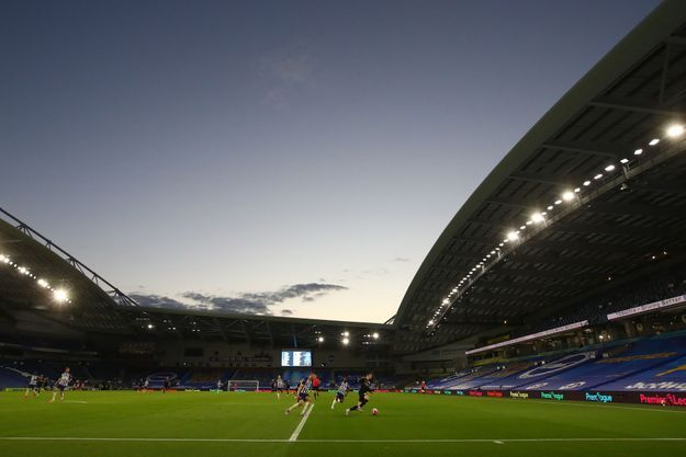 L'American Express Community Stadium à Brighton, le 11 juillet 2020 (image d'illustration).