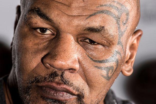 Mike Tyson en octobre 2018.