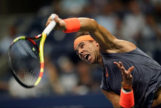 Rafael Nadal s'est qualifié pour les demi-finales de l'US Open.