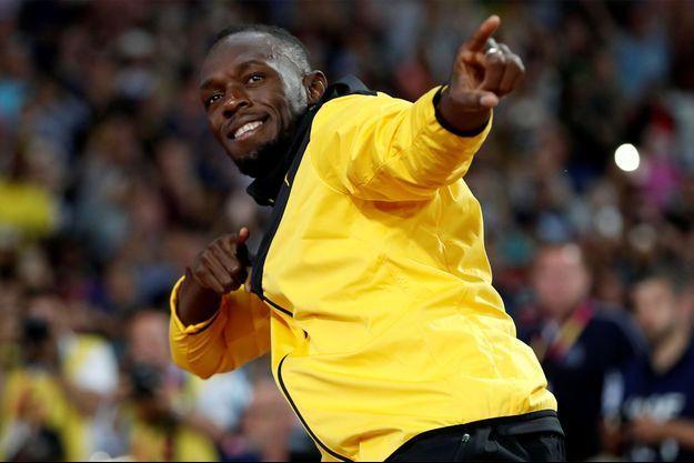 Usain Bolt se lance dans la restauration en Angleterre.