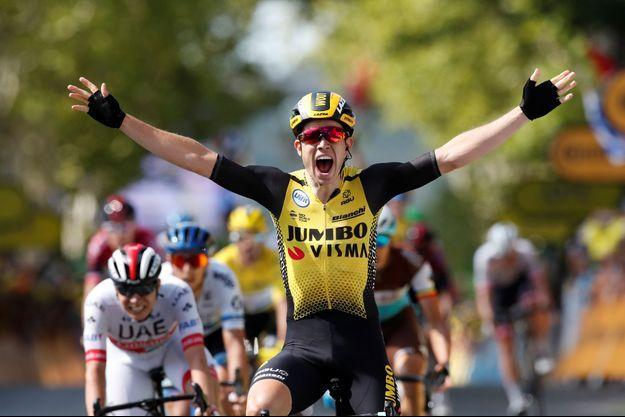 Wout van Aert remporte la 10e étape du Tour de France.