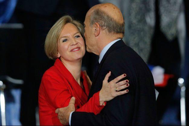 Virginie Calmels et Alain Juppé, en novembre dernier.