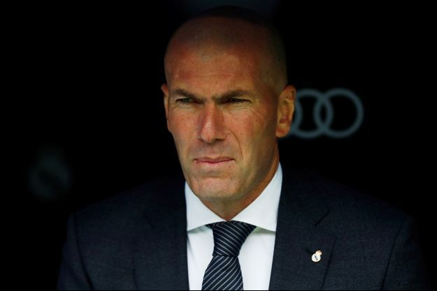 Zinedine Zidane, à Madrid lors d'un match en avril 2019.