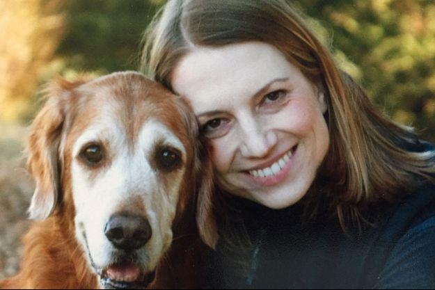 Le chien Bunker et Julie Barton
