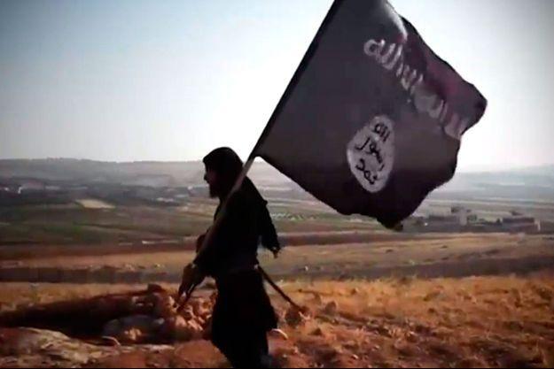 Un combattant de Daech sur une capture d'écran tirée d'une vidéo de propagande du groupe terroriste.