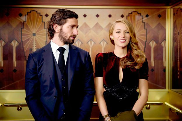 "Blake Lively et Michiel Huisman tombent amoureux dans ""Adeline""."