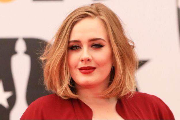 Adele le 24 février 2016