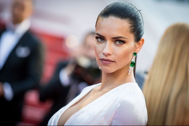 Adriana Lima au Festival de Cannes, 2016