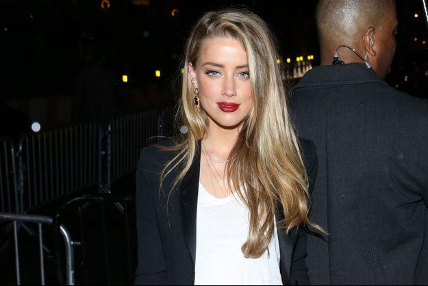 Amber Heard à New York, mai 2016
