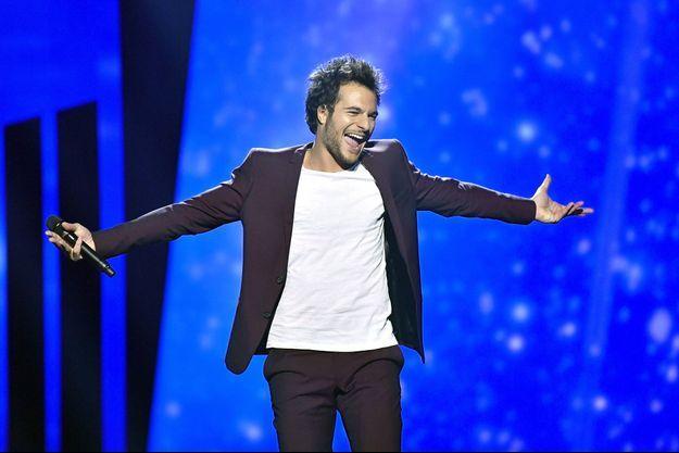 Amir lors de l'Eurovision, mai 2016.