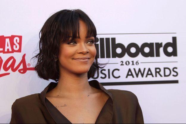 Rihanna aux Billboards Awards à Las Vegas, mai 2016