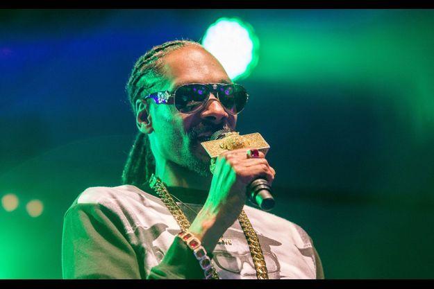 Le rappeur Snoop Dogg en concert à Uppsala le dimanche 26 juillet.