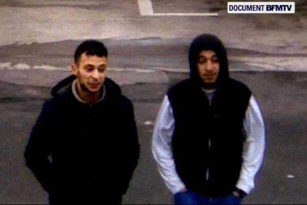 Salah Abdeslam (à gauche) et Hamza Attou.