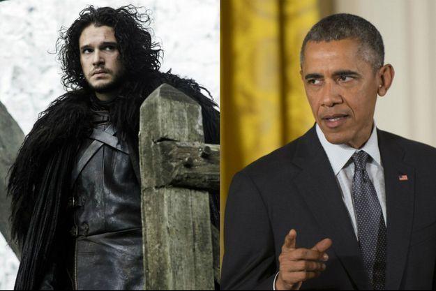 """Barack Obama a questionné l'un des réalisateurs de """"Game of Thrones"""" au sujet de la série."""