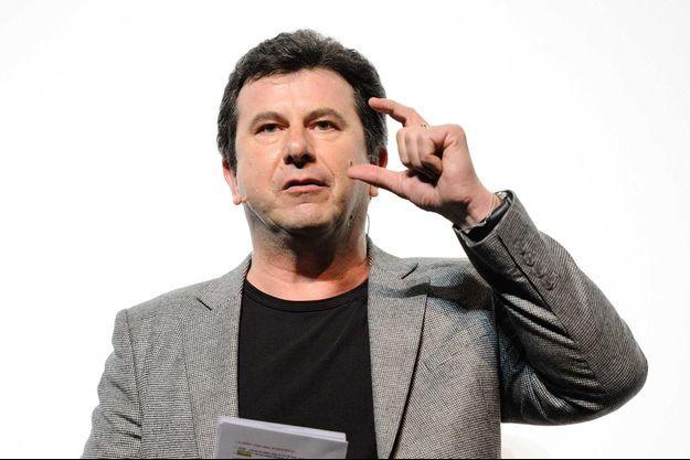 Pascal Bataille assiste à la presentation du programme théâtral du début d'année 2016 au Palace à Paris, le 30 Novembre 2015