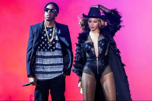 Beyoncé et Jay-Z en tournée le vendredi 18 Juillet 2014 à Houston, USA.