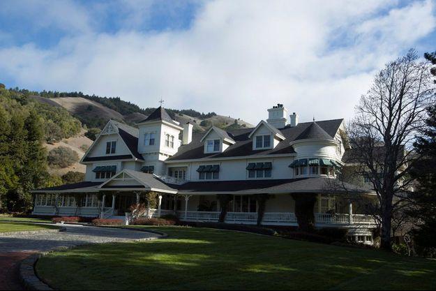 La maison principale du Skywalker Ranch.