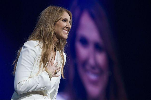 Céline Dion en concert à Montreal, 2016