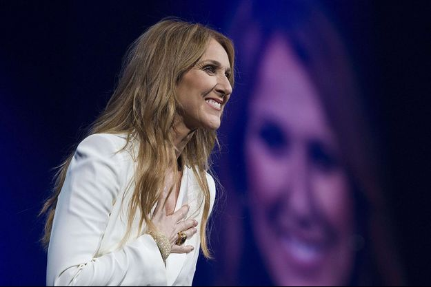 Céline Dion en concert à Montreal