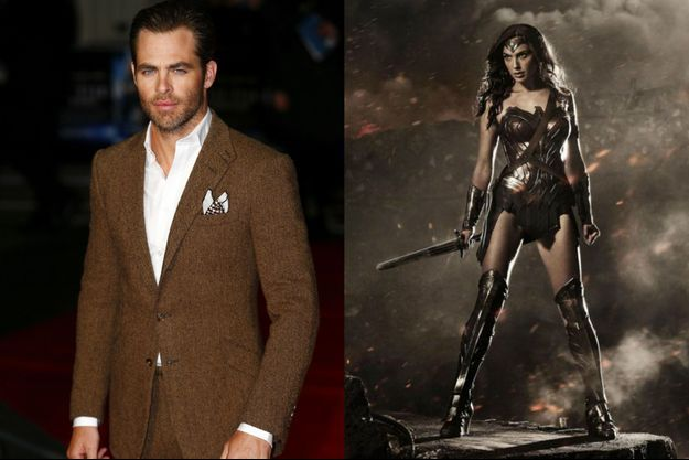 Chris Pine sera le petit ami de Gal Gadot, alias Wonder Woman, dans le film du même nom.