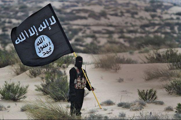 Le drapeau noir de Daech