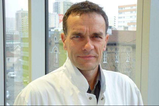 Luc Mallet, psychiatre, directeur de recherche à l'Inserm au sein de l'ICM, lauréat du prix Marcel Dassault 2013 porté par la Fondation FondaMental.