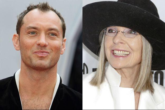 """Diane Keaton aidera Jude Law à arriver au pouvoir dans """"The Young Pope"""""""