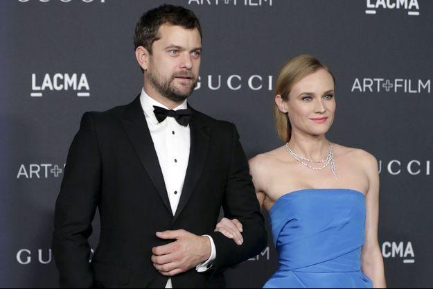 Diane Kruger et Joshua Jackson, le 8 novembre 2015
