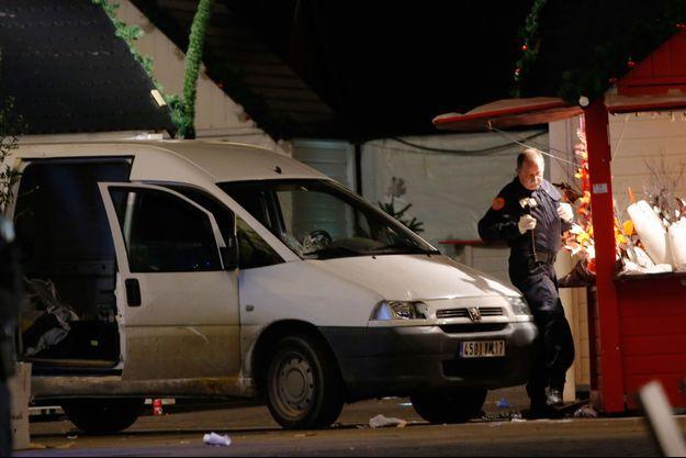 Le 22 décembre, le meurtrier présumé a lancé sa camionnette sur la foule massée au Marché de Noël de Nantes.