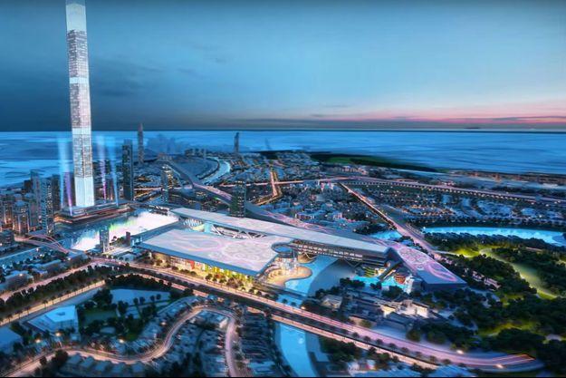 Voilà à quoi pourrait ressembler la prochaine piste de ski de Dubaï.