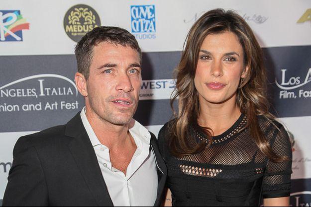 Elisabetta Canalis accompagné par Brian Perri, a assisté à l'inauguration de la neuvième édition du film italien, le 23 février 2014, à Los Angeles.
