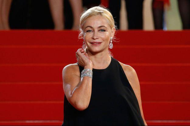 Emmanuelle Béart au Festival de Cannes 2016