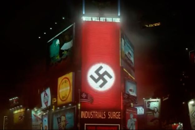 "New-York devient une ville nazie dans ""The Man In the High Castle""."