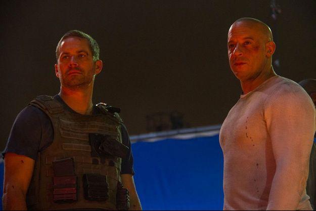 """La dernière scène tournée par Paul Walker et Vin Diesel ensemble pour """"Fast and Furious 7""""."""