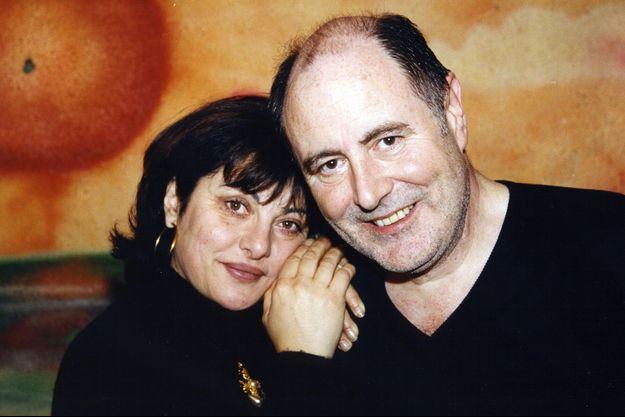 Michel Delpech et sa femme Geneviève