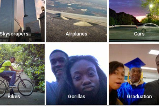 Le service de reconnaissance d'images Google Photos a tagué des Afro-américains comme étant des gorilles.