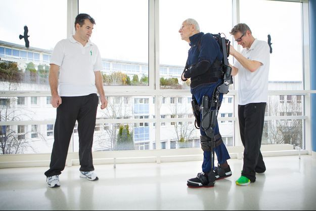 Dans un centre de réhabilitation en Allemagne