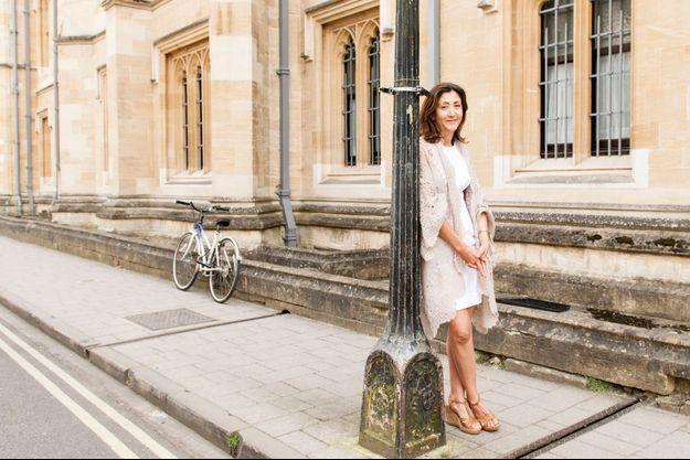 Ingrid Betancourt à Oxford où elle vit désormais.
