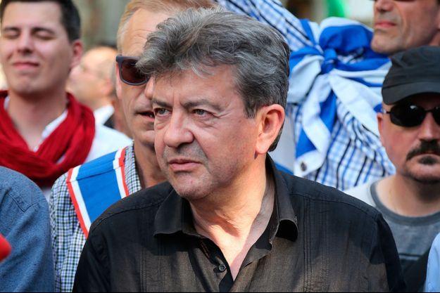 Jean-Luc Mélenchon lors d'une manifestation de soutien au peuple grec le 2 juillet dernier.