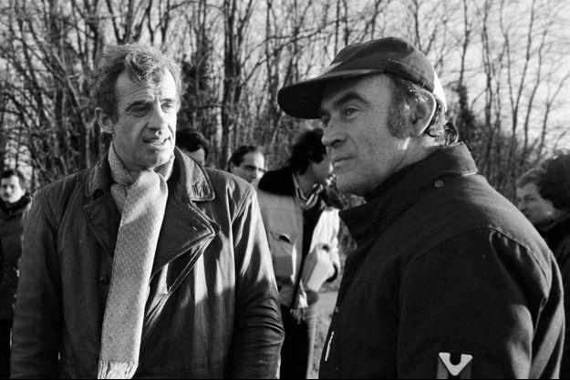 Jean-Paul Belmondo et Remy Julienne