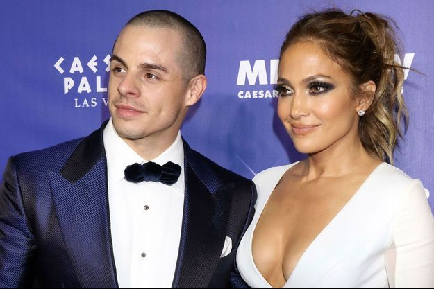 Jennifer Lopez et Casper Smart en janvier 2016