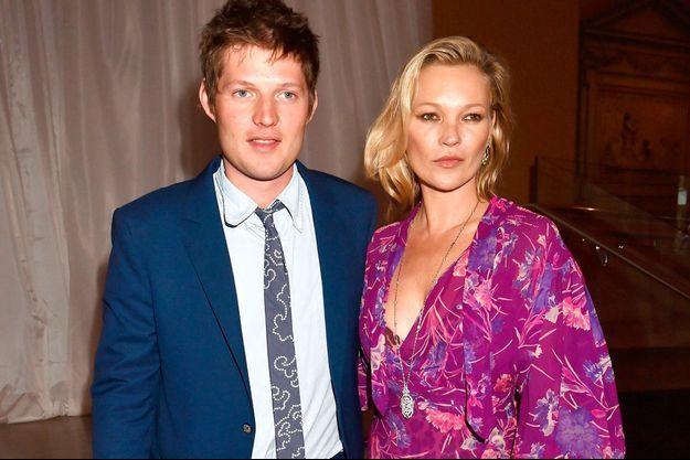 Kate Moss et son nouveau compagnon Nikolai von Bismarck