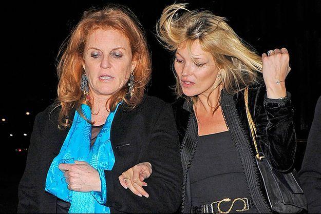 Kate Moss et Sarah Ferguson sont en vacances ensemble