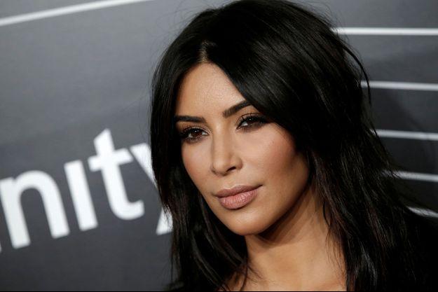 Kim Kardashian à la cérémonie des Webby Awards à Manhattan, mai 2016
