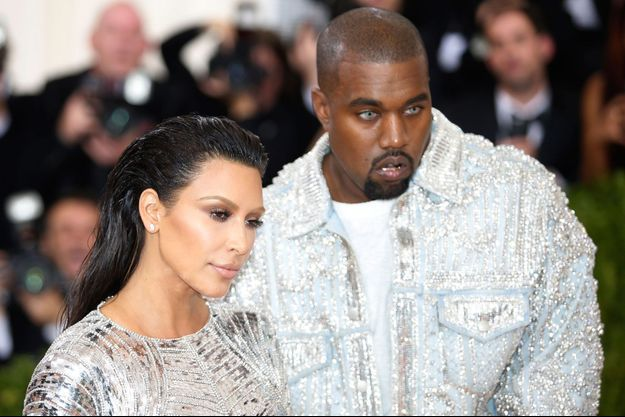 Kim Kardashian et Kanye West au Gala du Metropolitan Museum of Art, 2016